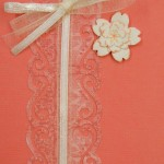 BE 1016 card - peach and cream 2